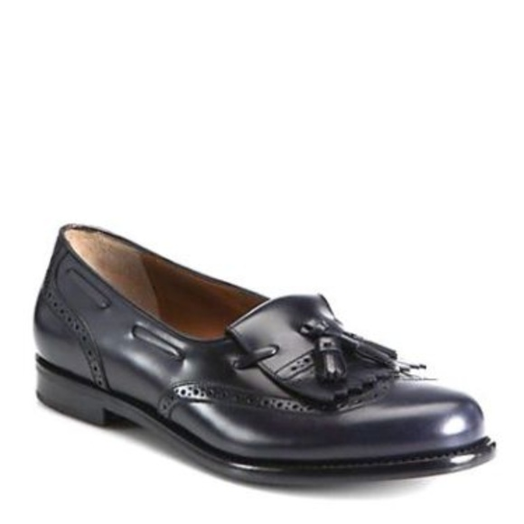 Dress Shoes Clothing, Shoes & Accessories Salvatore Ferragamo Men's Brown Leather Kilt Tassel Apron Toe Loafers 9.5 B